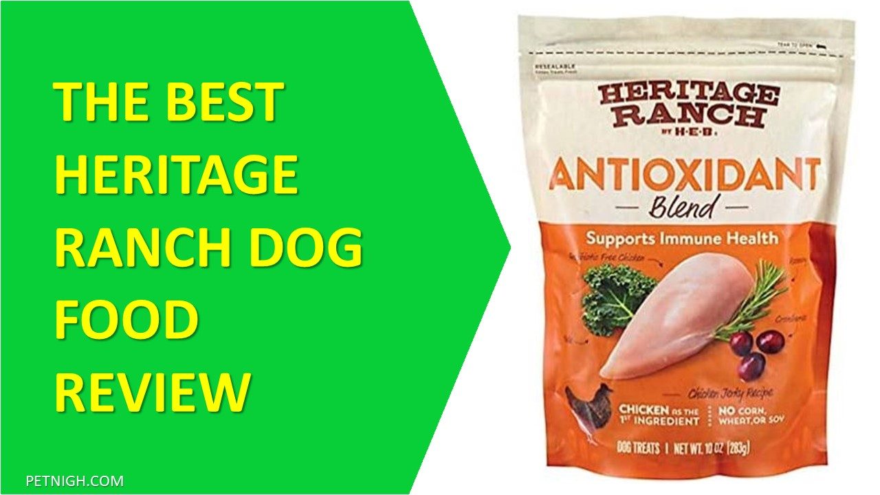 heritage ranch dog food review
