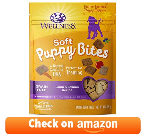 Wellness Natural Grain Free Puppy Training Treats, Lamb & Salmon Recipe
