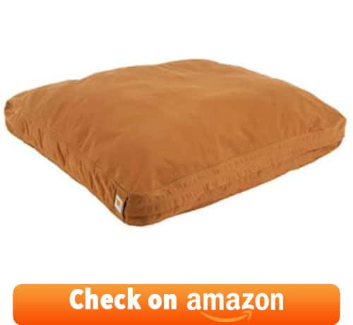 Dogs love to sleep on this type of bulky pillow