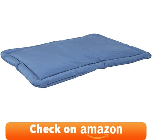 One of the best chew proof dog beds where dog will find extra comfort while resting on the pad